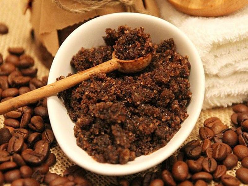 Скраб из кофе и меда для каждой 4-3