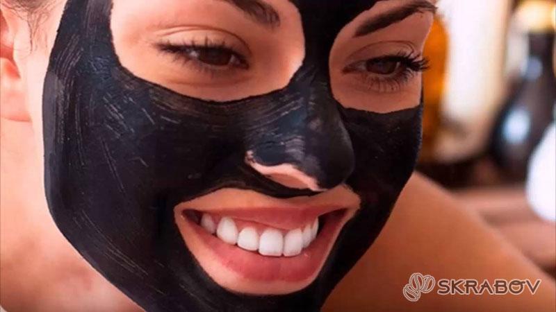 Черная маска для лица дома своими руками 11-3