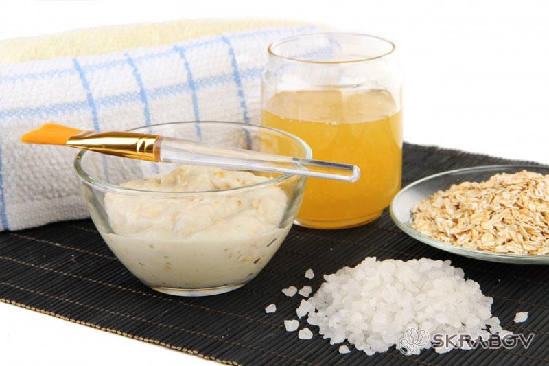 Маска из овсянки для лица: рецепты приготовления 28-5