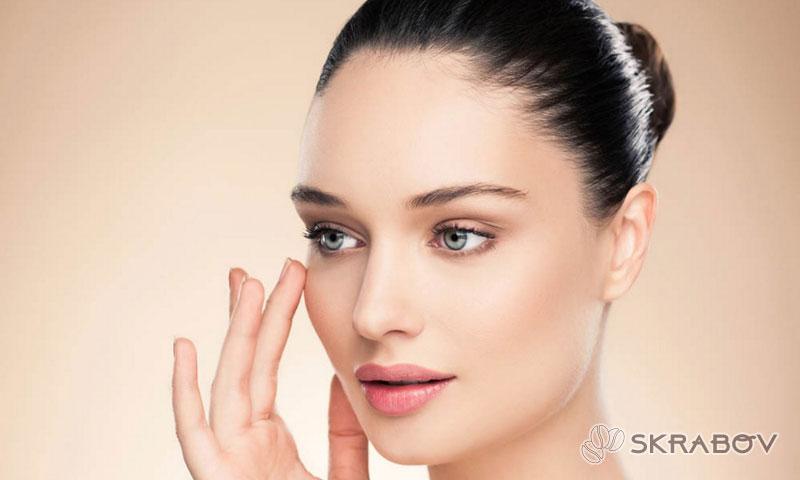 Желатиновые маски для лица с подтягивающим эффектом от морщин 45-6