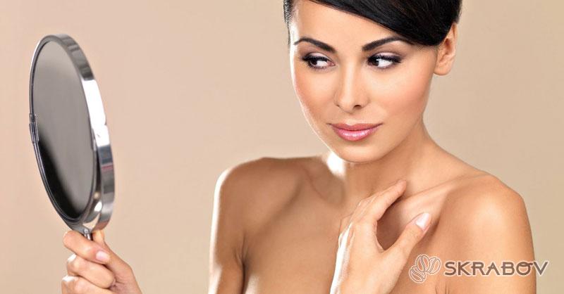Желатиновые маски для лица с подтягивающим эффектом от морщин 45-7